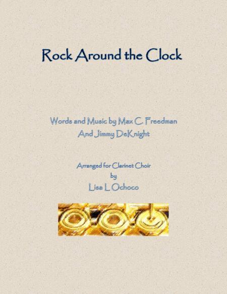 Rock Around The Clock for Clarinet Choir