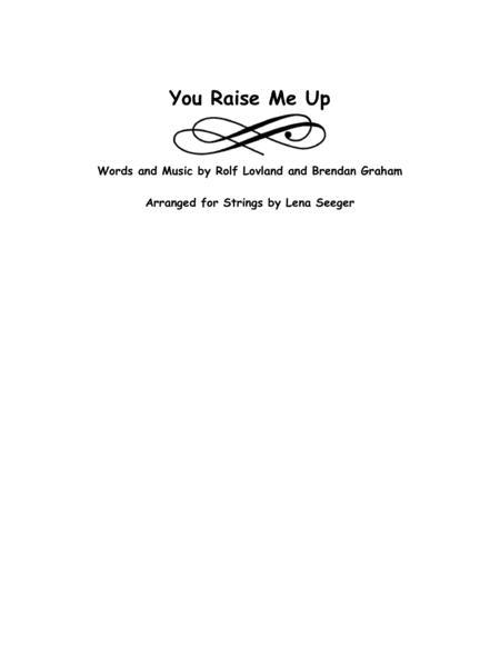 You Raise Me Up (string trio)