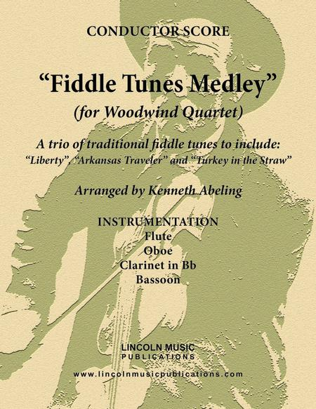 Fiddle Tunes Medley (for Woodwind Quartet)