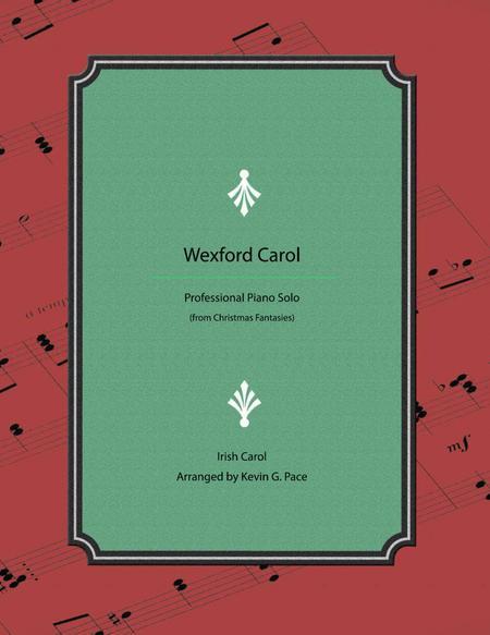 Wexford Carol - Advanced Christmas Piano Solo