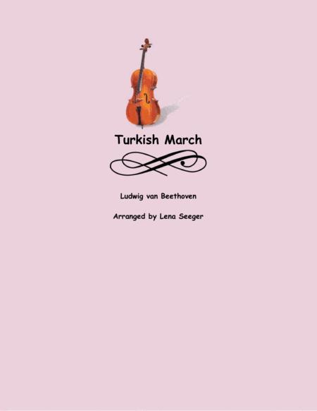 Turkish March (string trio)