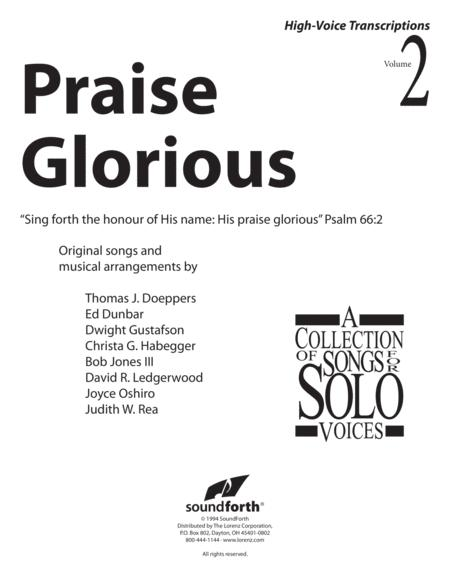 Praise Glorious, Vol. 2 - High Voice