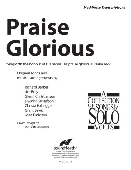 Praise Glorious, Vol. 1 - Medium Voice