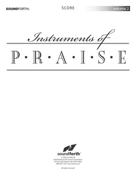 Instruments of Praise, Vol. 2: Trombone/Euphonium - Score and insert