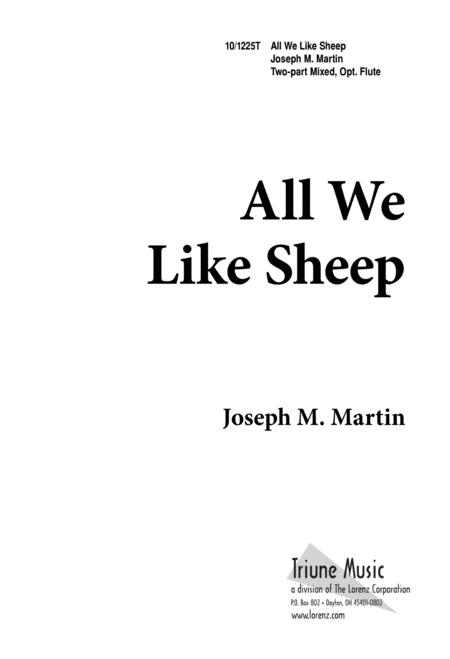 All We Like Sheep