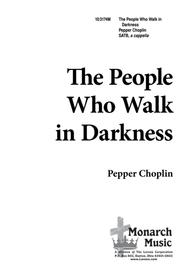 The People Who Walk in Darkness