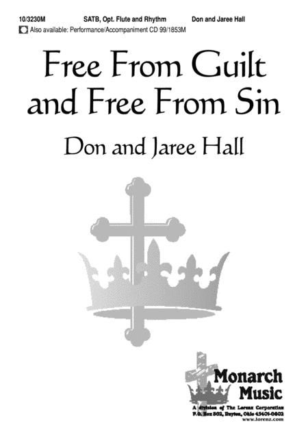Free From Guilt and Free From Sin