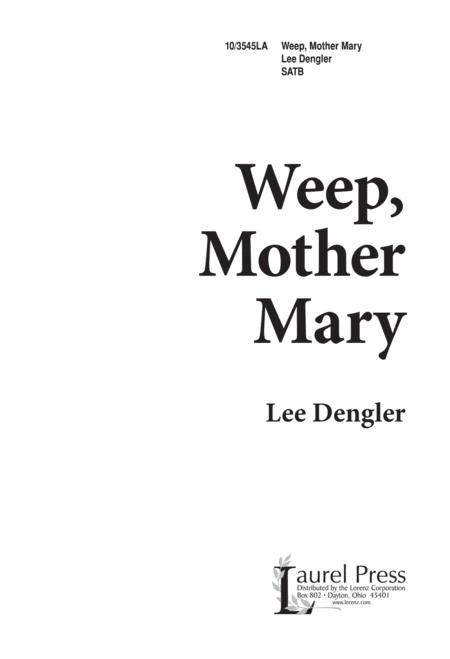 Weep, Mother Mary