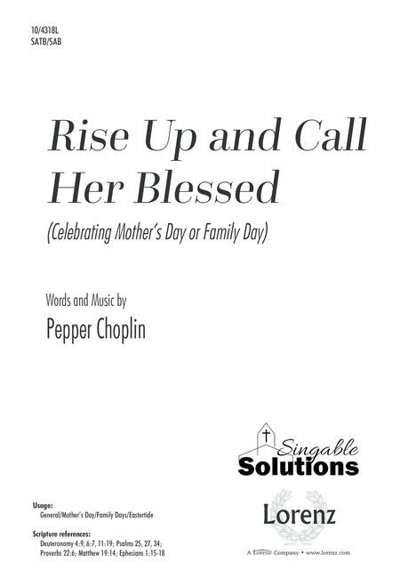 Rise Up and Call Her Blessed