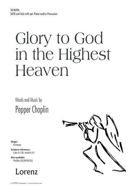 Glory to God in the Highest Heaven