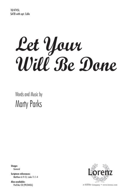 Let Your Will Be Done