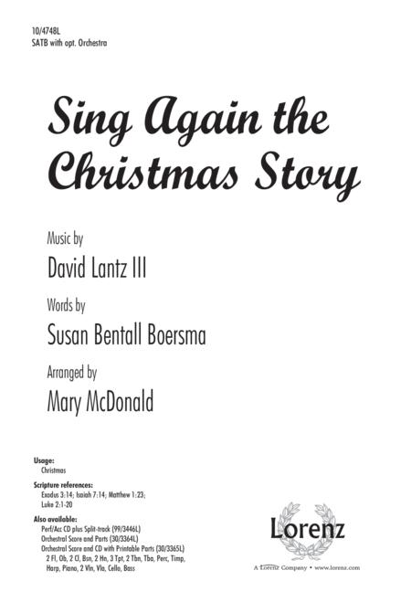 Sing Again the Christmas Story
