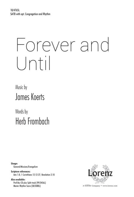 Forever and Until