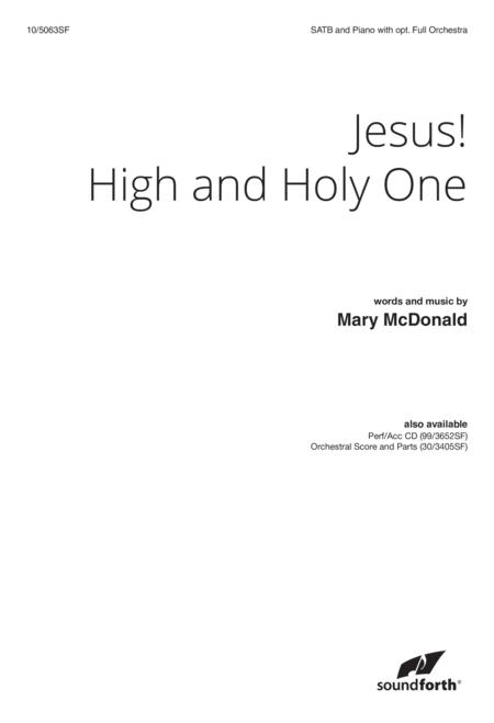 Jesus! High and Holy One