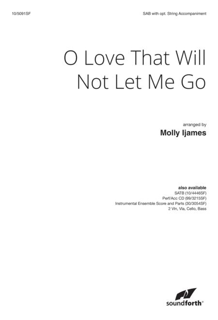 O Love That Will Not Let Me Go