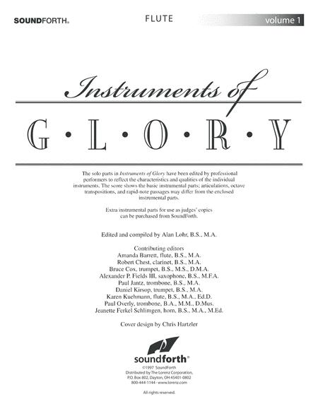 Instruments of Glory, Vol. 1 - Flute