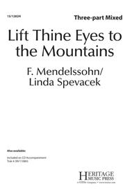 Lift Thine Eyes to the Mountains