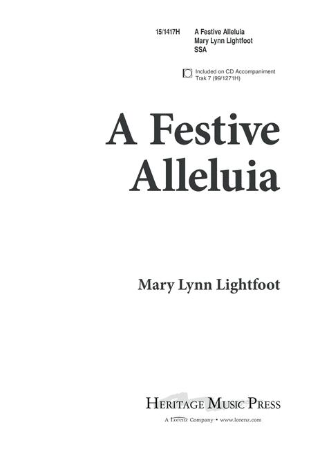A Festive Alleluia
