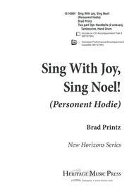 Sing With Joy, Sing Noel