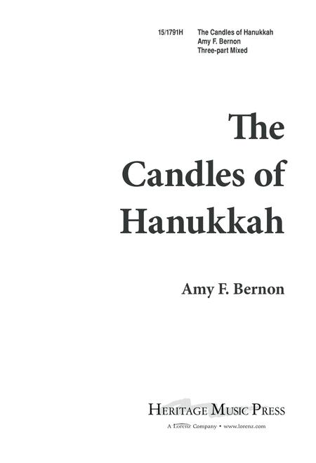 The Candles of Hanukkah