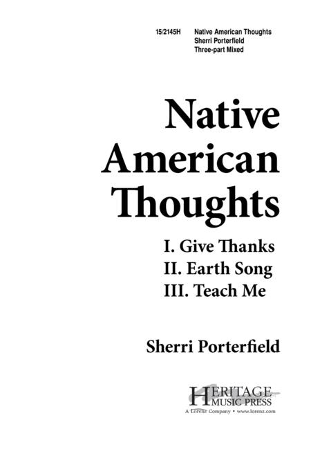 Native American Thoughts