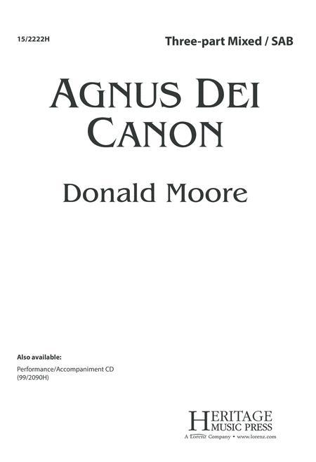 Agnus Dei Canon