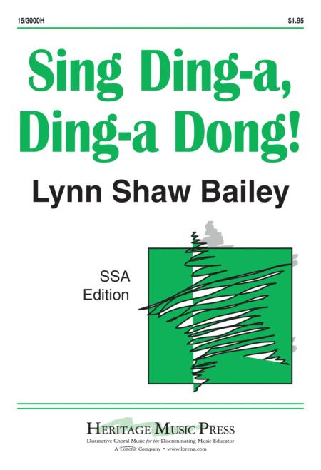 Sing Ding-a Ding-a Dong