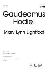 Gaudeamus Hodie!