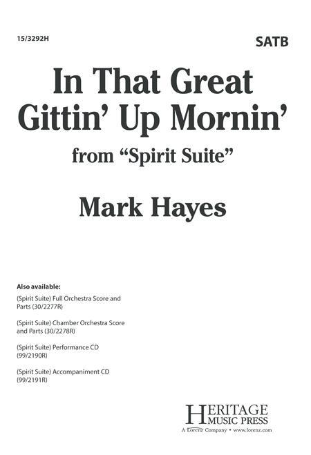 In That Great Gittin' Up Mornin'