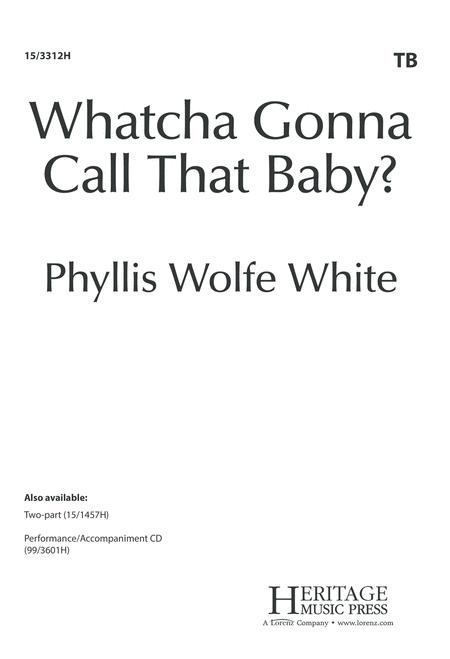 Whatcha Gonna Call That Baby?