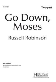 Go down moses ноты