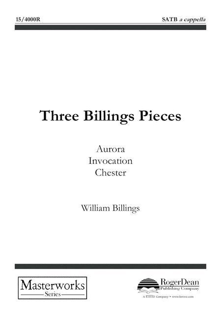 Three Billings Pieces
