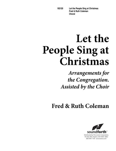 Let the People Sing at Christmas