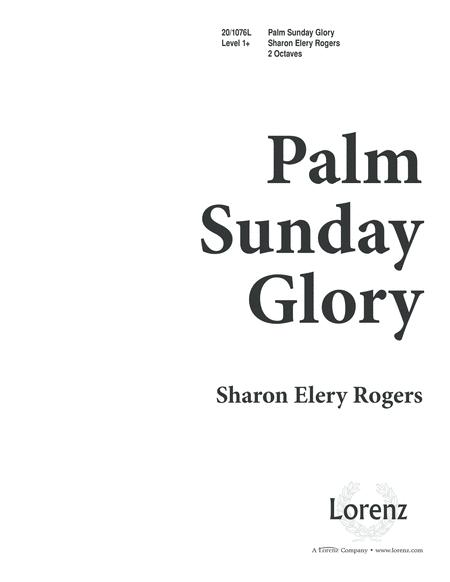 Palm Sunday Glory