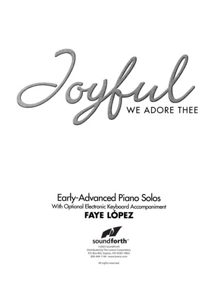 Joyful, We Adore Thee