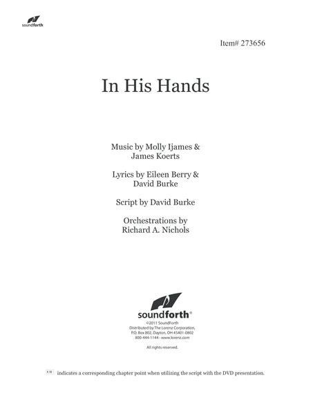 In His Hands - Orchestral Score and Parts