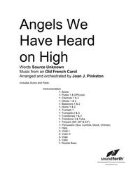 Angels We Have Heard On High - Full Orchestra Score and Parts