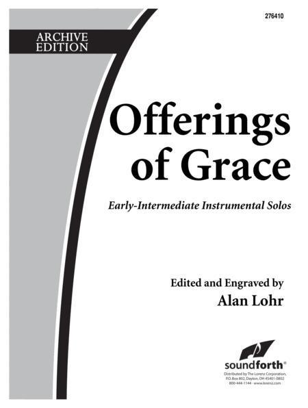 Offerings of Grace - Alto Sax