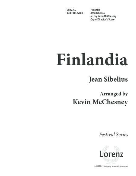 Finlandia - Organ/Director's Edition
