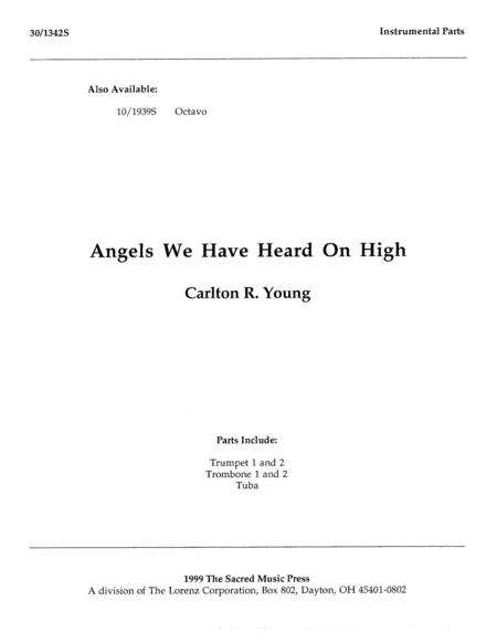 Angels We Have Heard On High - Instrumental Parts