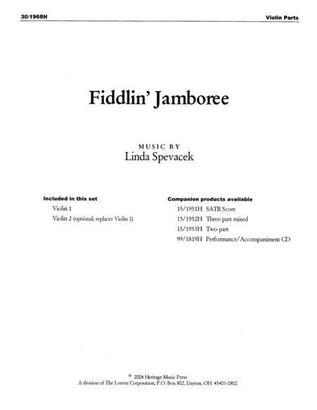 Fiddlin' Jamboree - Fiddle Parts