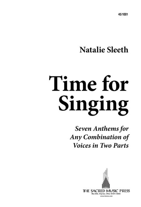 Time for Singing