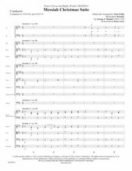 Messiah Christmas Suite - Orchestral Score and Parts