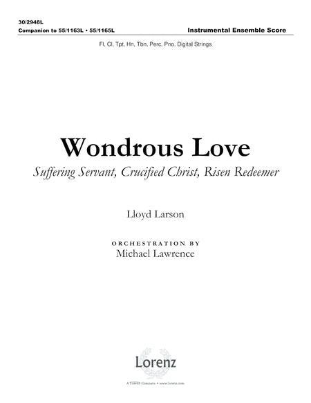 Wondrous Love - Instrumental Ensemble Score