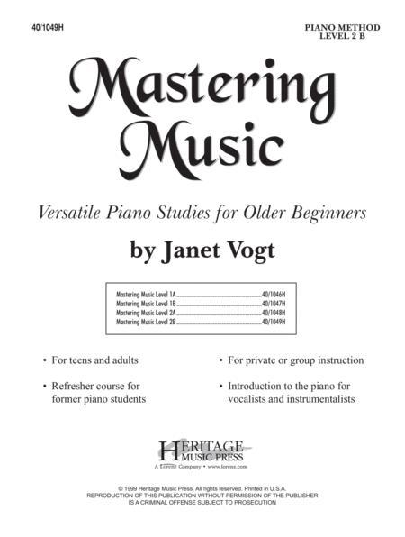 Mastering Music Level 2B