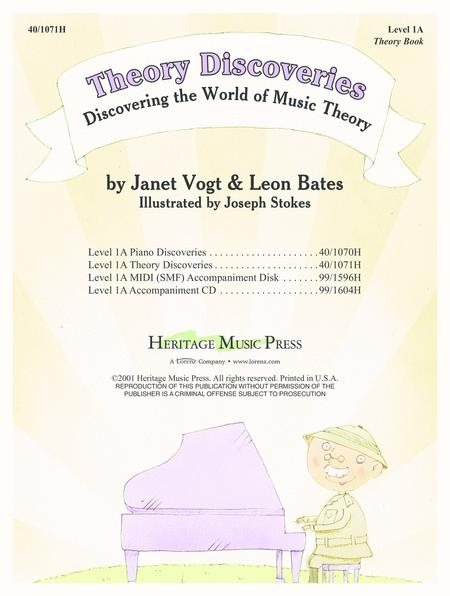 Piano Discoveries Theory Bk 1A