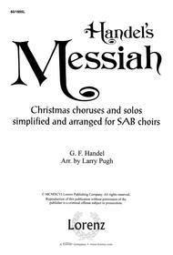 Handel's Messiah: Christmas Choruses and Solos