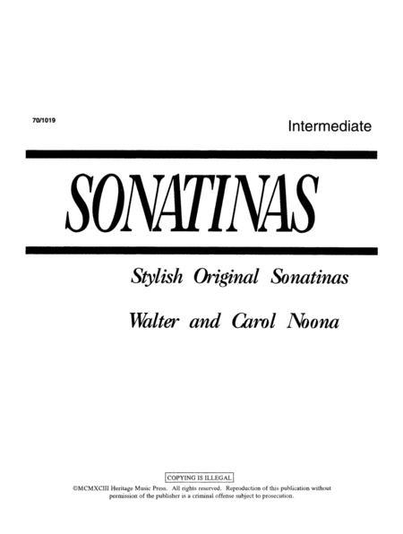 Sonatinas: Intermediate Sonatinas