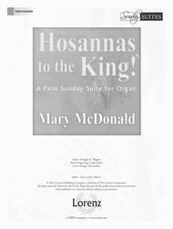 Hosannas to the King!