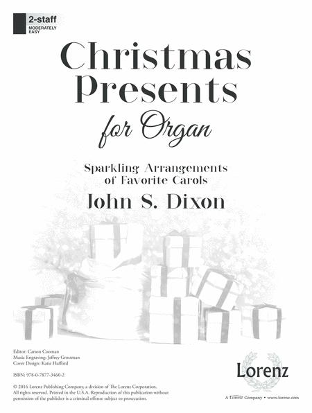 Christmas Presents for Organ